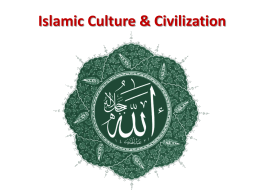 Islamic Civilization - Doral Academy Preparatory