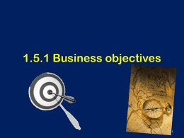 1.5.1 Business Objectives Pres