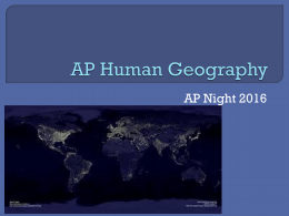AP Human Night 2016 - Fulton County Schools