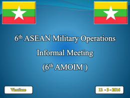 5 th ASEAN Chiefs of Military Medicine Conference