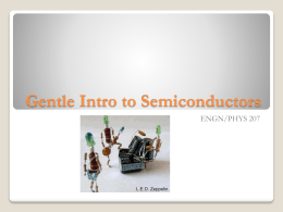 Semiconductor Theory and LEDs []