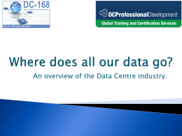 Data Centre Certified Technician