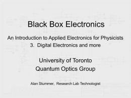 3. Black Box Electronics