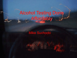 Alcohol Testing Done Affordably
