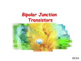 Lecture11 BJT Transistor