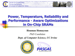 Power, Temperature, Reliability and Performance