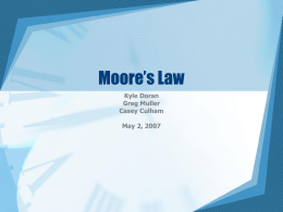 Moore`s Law