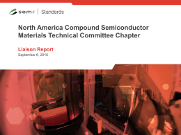 North America Compound Semiconductor Materials Technical