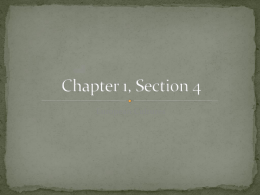 Chapter 1, Section 4