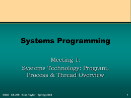 Systems Programming (Introduction)