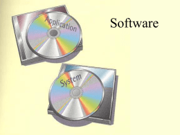 System Software - Indiana State University
