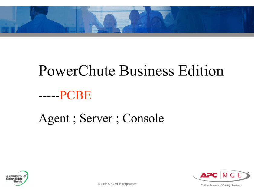 Configuration the PCBE Agent | studyslide com