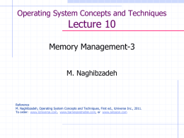 OperatingSystems-Lecture10