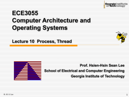 Lec10-OS-process - ECE Users Pages