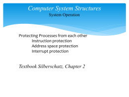 2.3.4. Computer System Structures - Process Protection.pptx