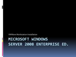 Microsoft Windows Server 2003 R2