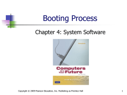 Booting process