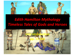 Introduction to Mythology by Edith Hamilton