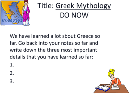 Greek Myth #1 - cloudfront.net