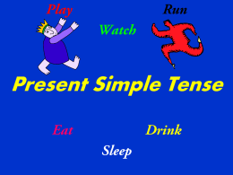 Simple Present Tense English Grammar Rules