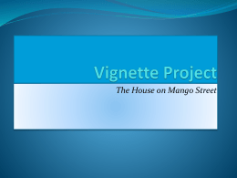 Vignette Project - Buchanan Community Schools
