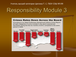 Responsibility Module 3