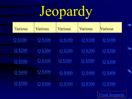 Jeopardy - jackson12