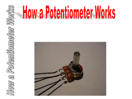 potentiometer lab directions