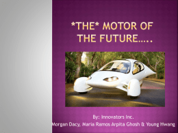 the* motor of the future