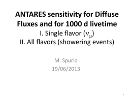 Estimate of the ANTARES sensitivity for showering