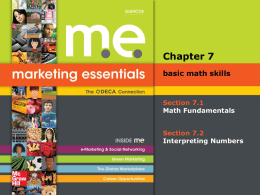 Marketing Essentials_ Chapter 7_Basic Math Skills_