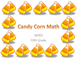 Candy Corn Math - ditoddfifthgrade