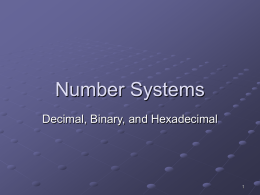 01_Chapter 1 - Number Systems Base
