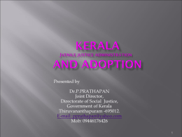 Adoption in Kerala