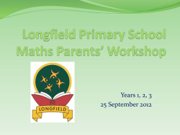 Year 3 - Longfield Primary School