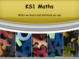 maths-in-ks1-3 - Westcliff Primary School