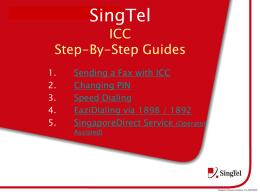 SingTel ICC Step-By