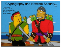 William Stallings, Cryptography and Network Security 3/e