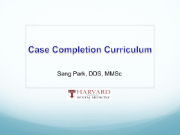 Case Completion Requirements