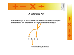 A balancing act - Welcome to Teacher Tools