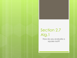 Section 2.6 Alg.1 - Mukwonago Area School District