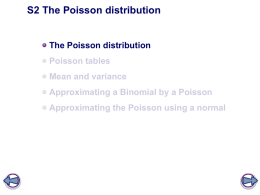 S2.1 Binomial and Poisson distributions