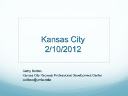 EOC Training - Kansas City Public Schools