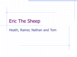 Eric The Sheep - Mathematics Centre