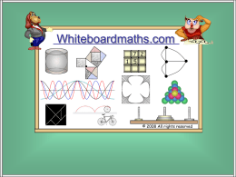 GCSE Booster - Whiteboard Maths