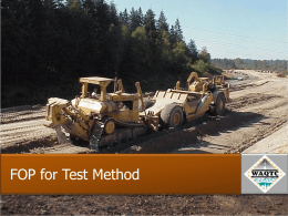 Sampling of Aggregates FOP for AASHTO T 2