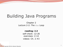 System.out.print - Building Java Programs
