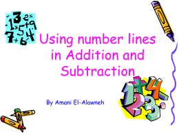 Numberline - Primary Resources