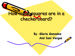 Checkerboard Powerpoint 1