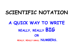 PP 6b Scientific Notation